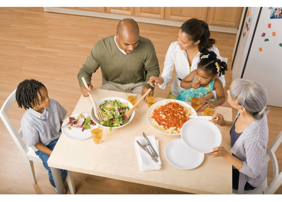 How to Have a Better Family Dinner Conversation