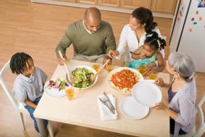 Key to Better Family Dinner Conversation
